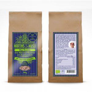 Martins Bio Müsli Das Dunkle mit Kakao-Geschmack