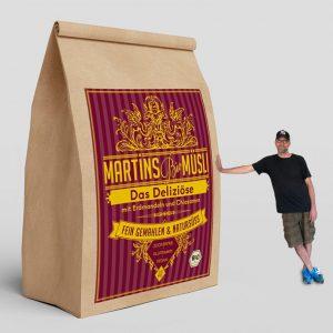 """Martin und die 2kg-Packung """"Das Deliziöse"""""""